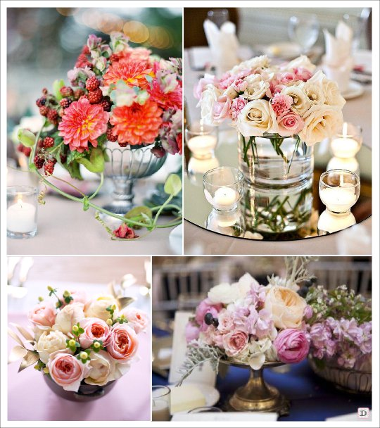 le bouquet de fleurs pour une table de mariage comment le composer blog of. Black Bedroom Furniture Sets. Home Design Ideas