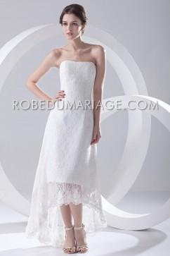 robe de mariage civil pas cher, robe mariée courte 2017, robe de ...