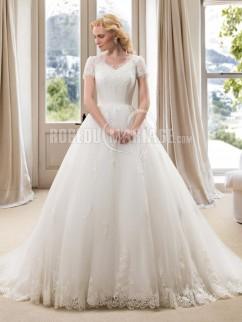 Robe mariage pour ronde
