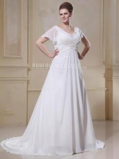 Robe de mariee dentelle pour ronde