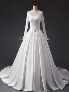 robe de mariée vintage 2017, robe de mariée pas cher sur mesure en ...