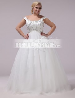 Robe mariage grande taille femme
