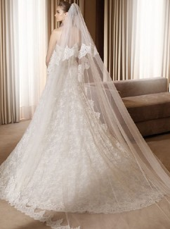 voile pour cathdrale mariage - Accessoir Mariage