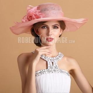 roses doubles chapeau de c r monie magnifique robe208347. Black Bedroom Furniture Sets. Home Design Ideas