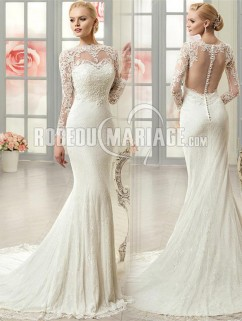 Les plus belle robe de marie manche longue