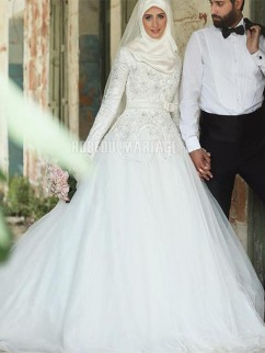 Belle robe de mariee musulmane