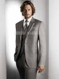 Veste avec deux boutons costume de mariage avec coupe moderne c85ad44165b