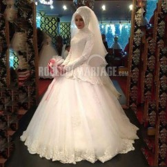 robe de mariée musulmane, robe de mariée