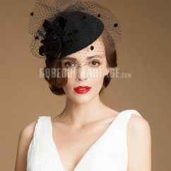 couleur rapide profiter de gros rabais chaussures classiques Chapeaux de cérémonie élégants, Chapeau bibi supérieur ...
