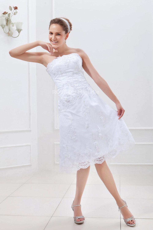 Accueil > Robe de mariage > Robe de mariée civile > Simple robe de ...