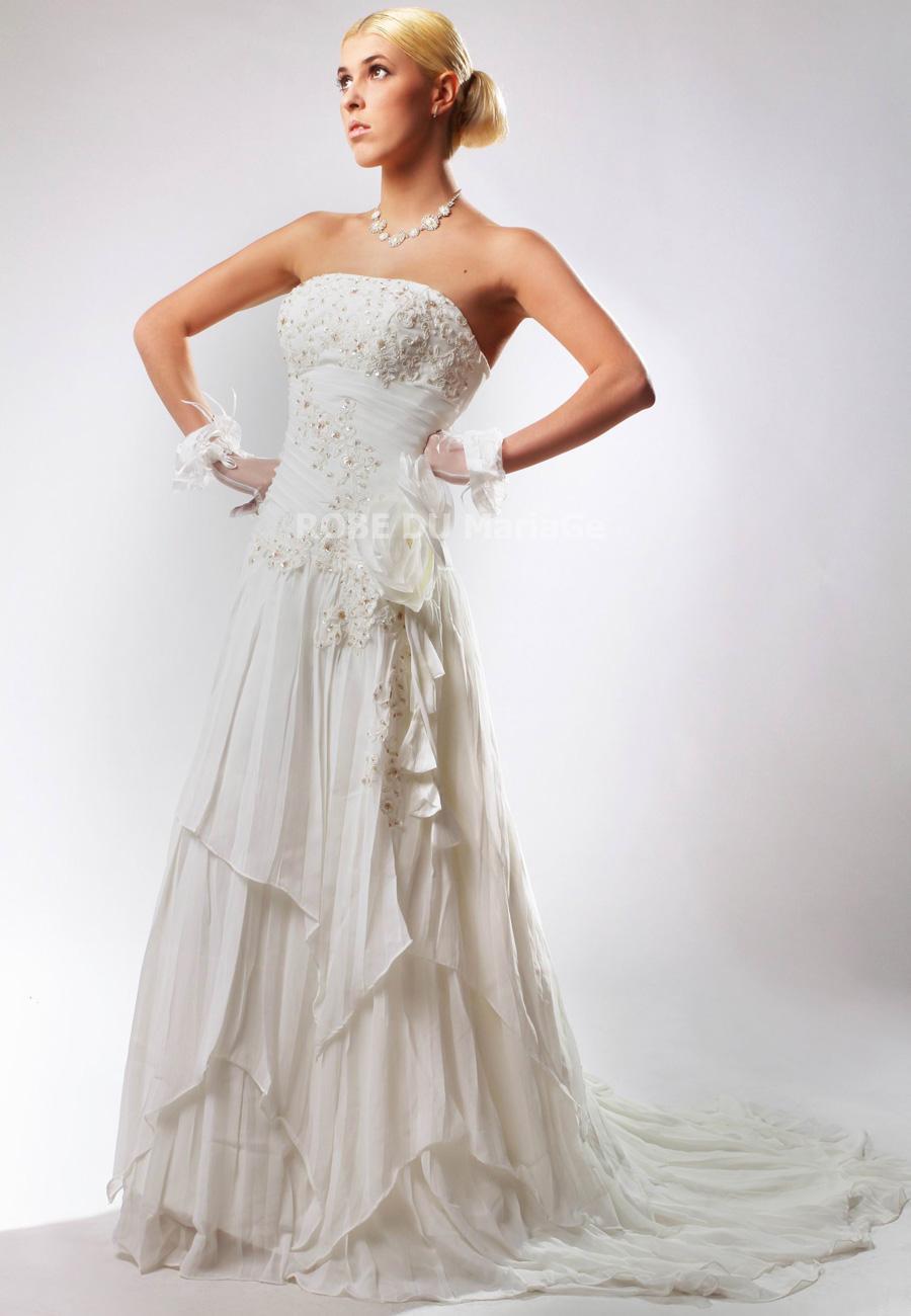 Accueil > Robe de mariage > Robe de mariée romantique > Robe de ...