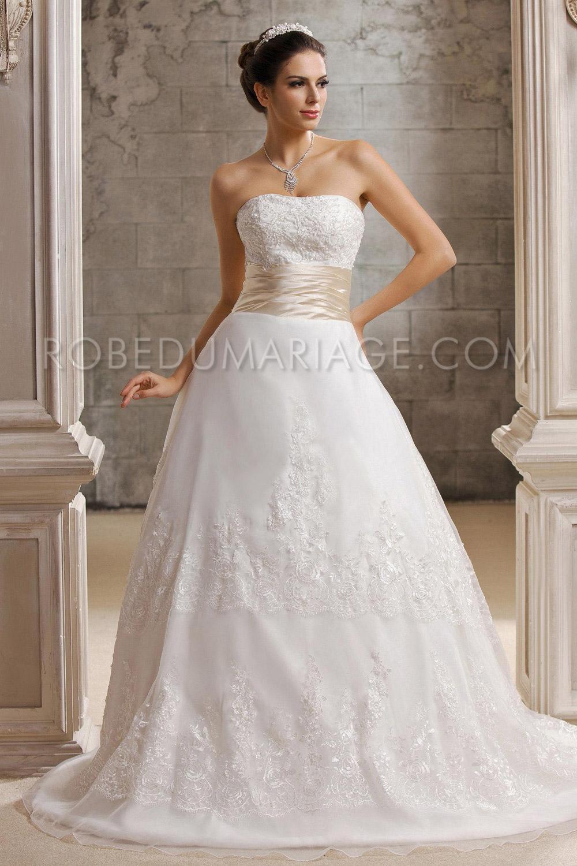 ... de mariée princesse > Dentelle A-ligne robe de mariée princesse pas