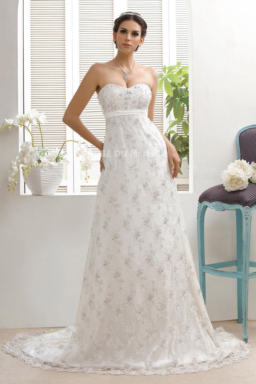 Robe de mariee sans traine pas cher