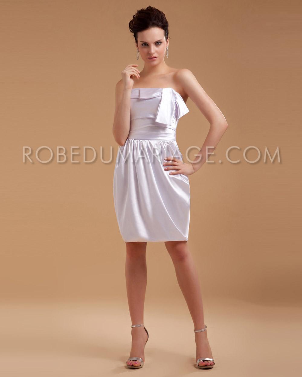 Свадебное платье из сатина фото 1