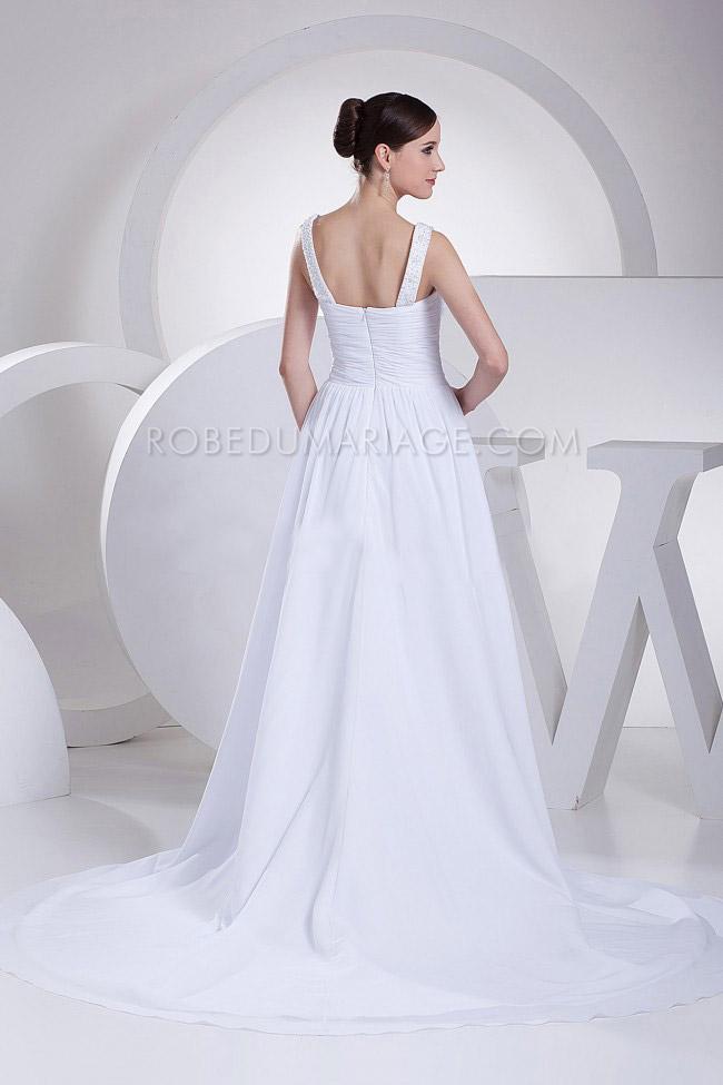robe de mariage enceinte fronc e chiffon perles tra ne pas ch re robe206175. Black Bedroom Furniture Sets. Home Design Ideas