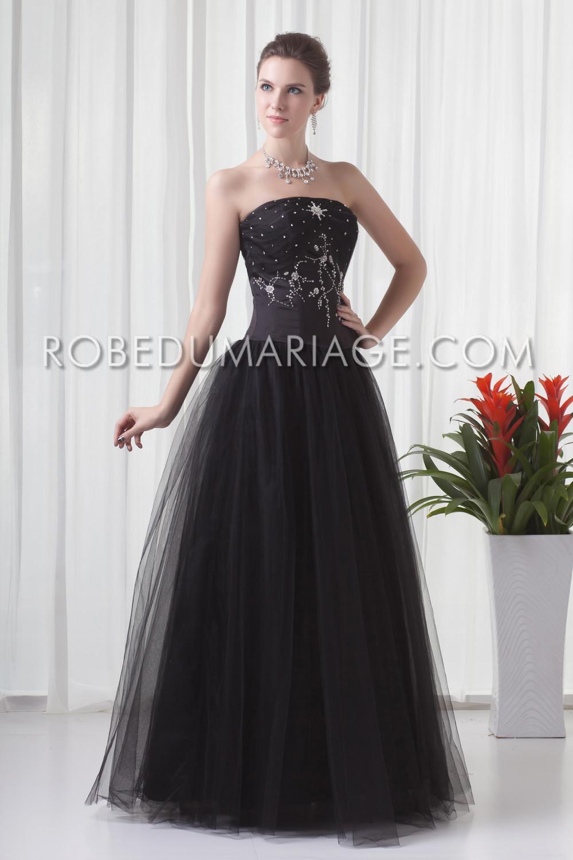 Robe de soirée pas cher pour mariage tulle