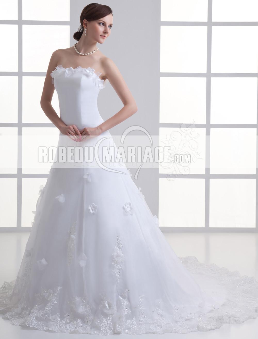 mariage > Robe de mariée moderne > A-ligne robe de mariage pas cher ...