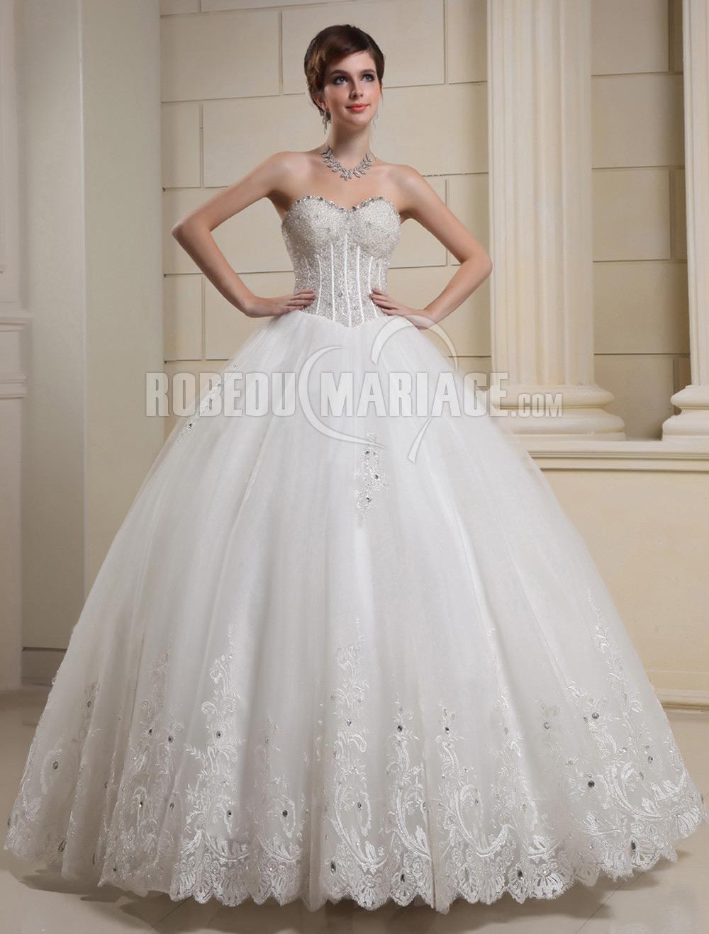 9547067b45e Robe de mariage bustier - la pijson pigram
