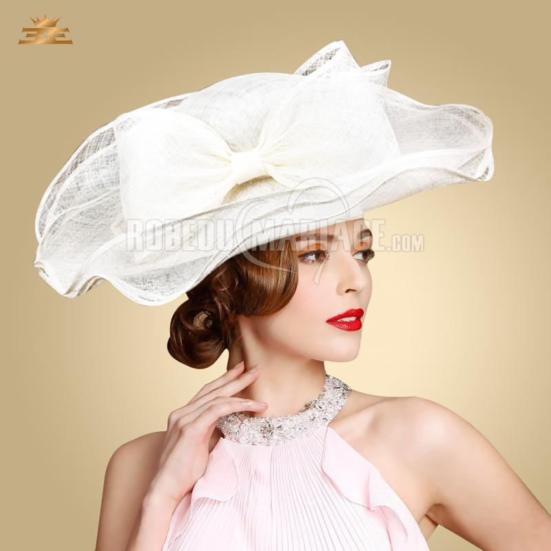 n ud papillon chapeau de c r monie organza chapeau pas cher robe208327. Black Bedroom Furniture Sets. Home Design Ideas