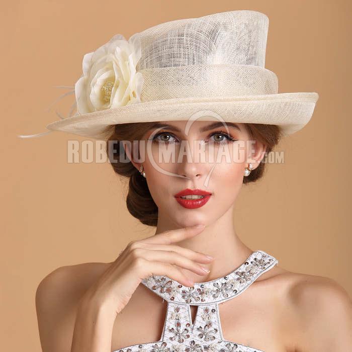 fleur chapeau de c r monie ou soir e pas cher robe208437. Black Bedroom Furniture Sets. Home Design Ideas