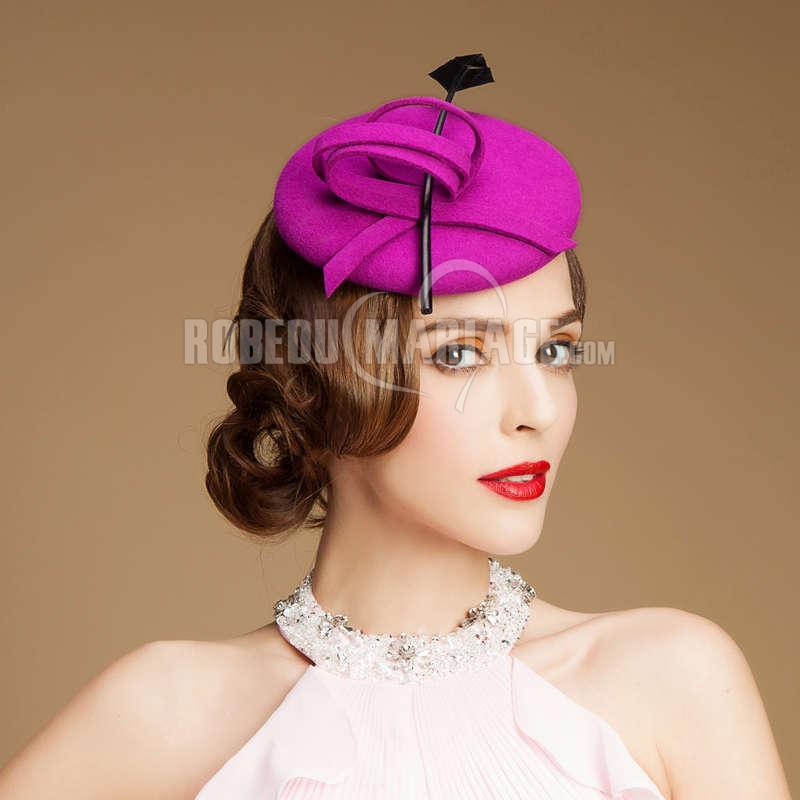 plume chapeau bibi laine pas cher l gante robe208388. Black Bedroom Furniture Sets. Home Design Ideas