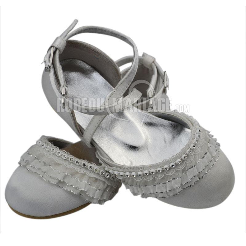 dentelle appliques chaussures de mariage fille pas cher robe208503. Black Bedroom Furniture Sets. Home Design Ideas