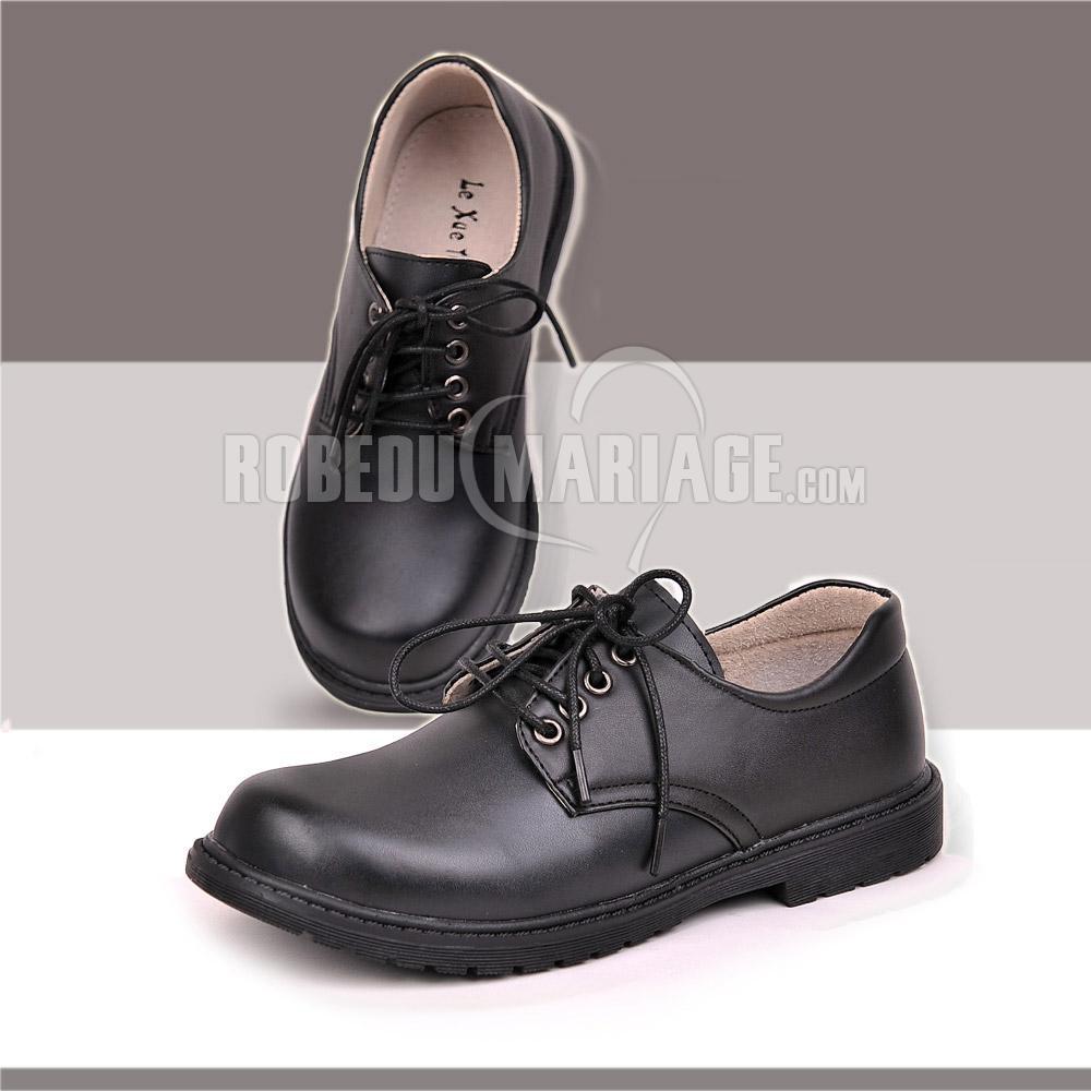 chaussures de c r monie ou mariage pour gar on satin robe208945. Black Bedroom Furniture Sets. Home Design Ideas