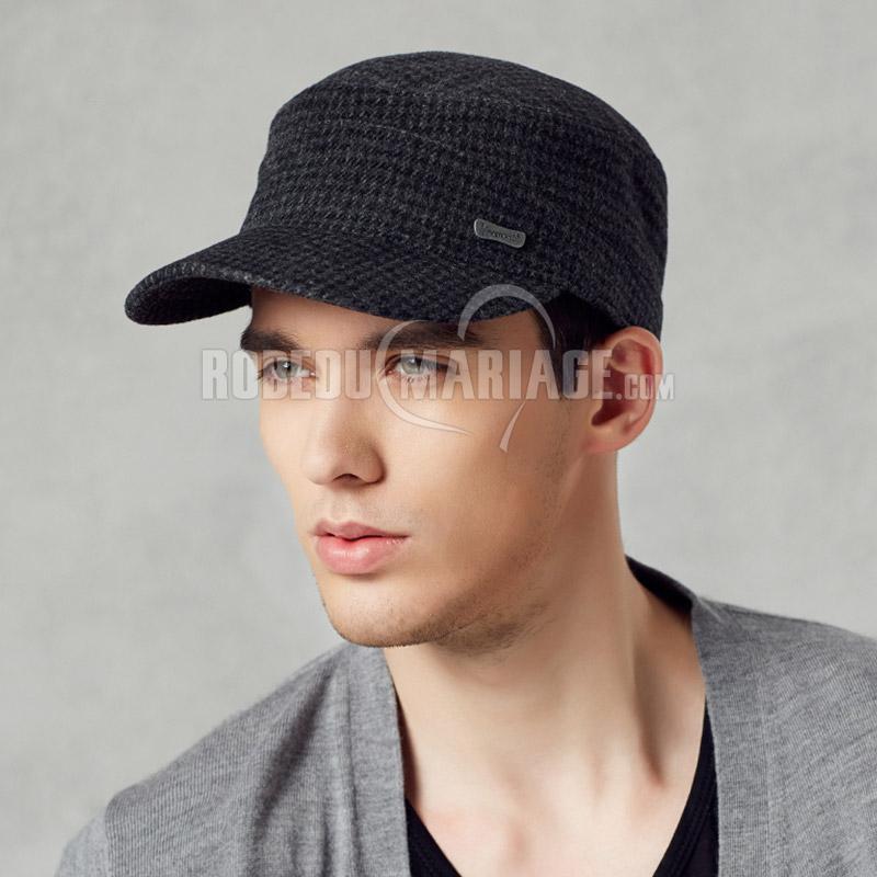 chapeau d 39 hiver pour homme pas cher en laine robe209238. Black Bedroom Furniture Sets. Home Design Ideas