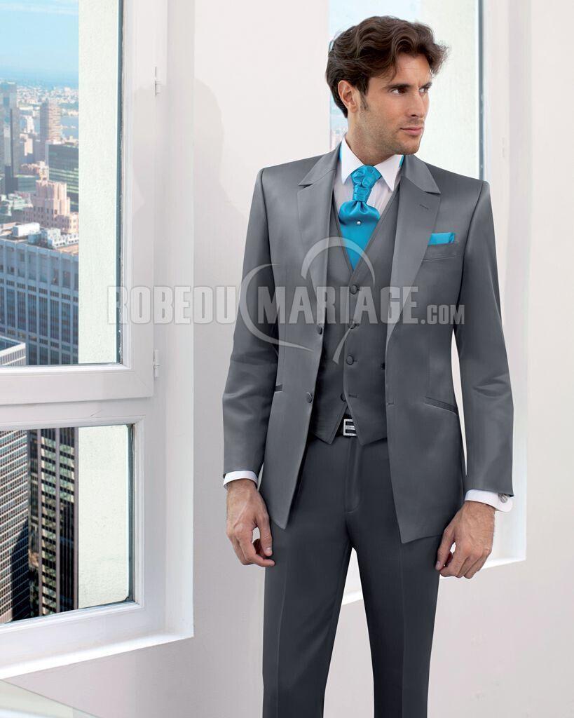 excellent deux boutons jaquette de mari costume homme - Costume Jaquette Mariage