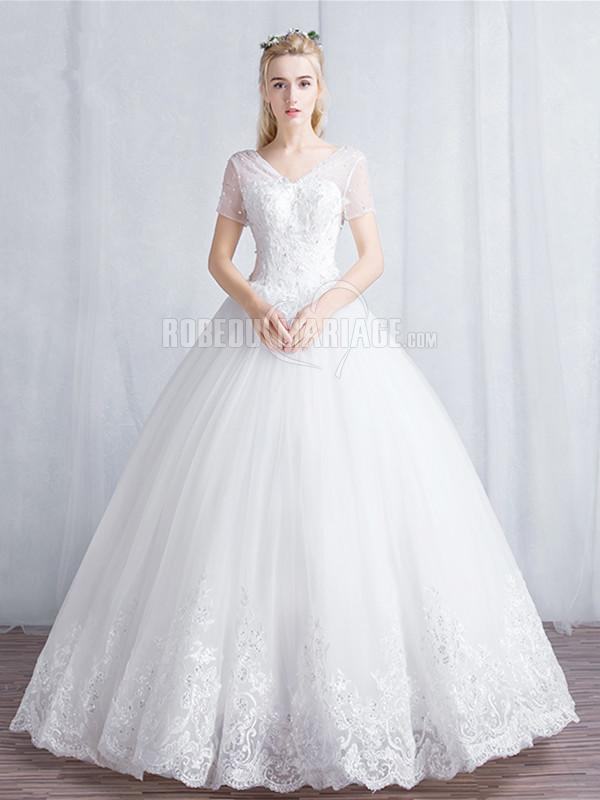Robe de mariee princesse courte for Ligne de robe de mariage lauren conrad