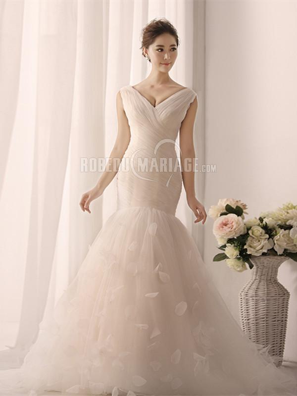 > Robe de mariage > Robe de mariée romantique > Sirène robe de ...