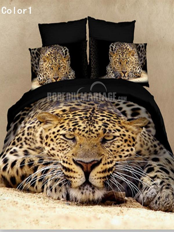 linge de lit 3d pour deux personnes pas cher avec motif animal robe2012775. Black Bedroom Furniture Sets. Home Design Ideas