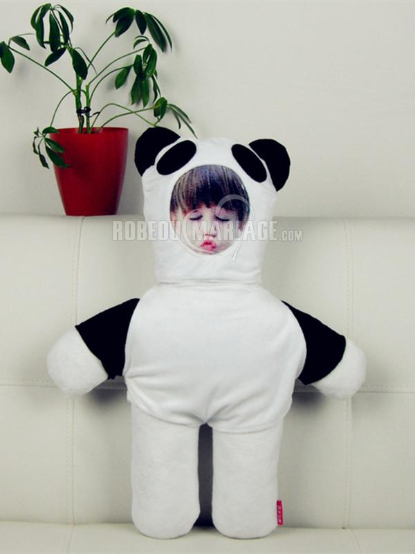 Robedumariage FR Oreiller DIY panda poupée magnifique pas cher