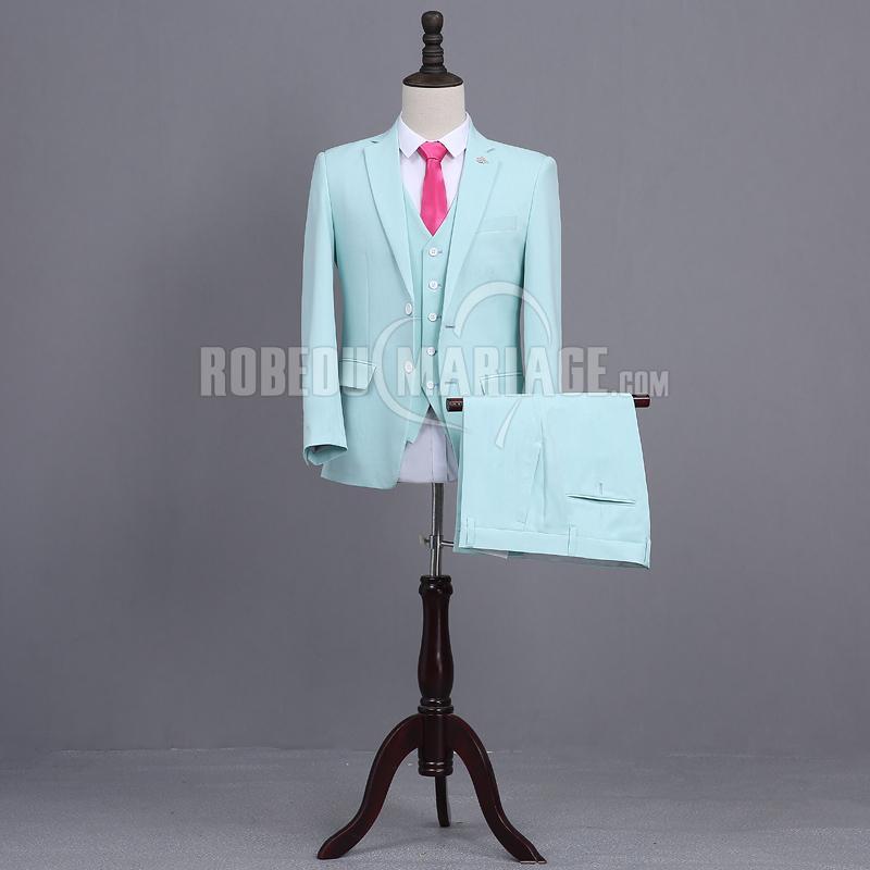 Robedumariage FR Veste pantalon gilet nœud papillon costume quatre pièces sur mesure pas cher
