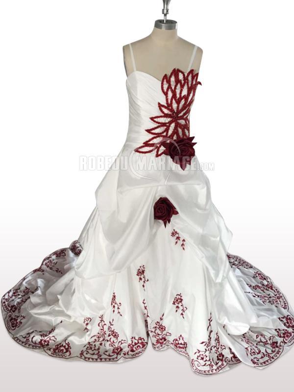 Robes de mariage Photo réelle robe de mariée sur mesure à partir de 2 modèles sur notre site