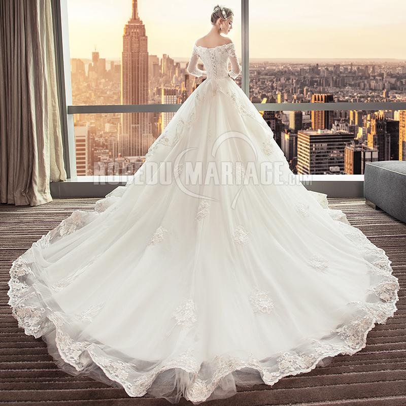 Robe Princesse Traine
