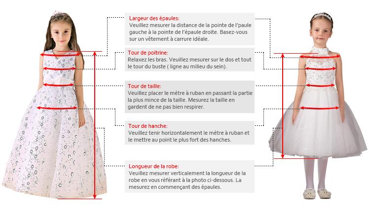 Robe de mariage enfant ray e satin ceinture noeud pas cher for La conservation de robe de mariage de noeud
